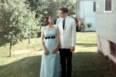 Lila Perry Steinhoff - Ken Steinhoff Lila Senior Prom 1966