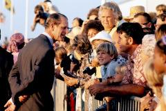 Prince Philip during Feb. 20-21 visit to Bahamas