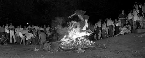 05 09 1970 12 Bonfire at Ohio University War Memorial  500x200 Kent State: Never Forget