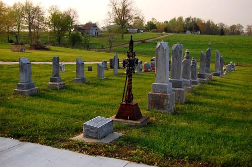 St. Johns Lutheran Church Cemetery Pocahontas 04 19 2011 5661 500x332 St. Johns Lutheran Church in Pocahontas