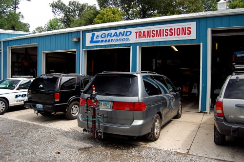 Ken Steinhoff  Honda Odyssey van at LaGrand Bros Transmissions 08-19-2011