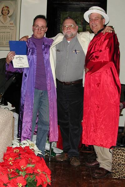 Steinhoff family 2000 Christmas