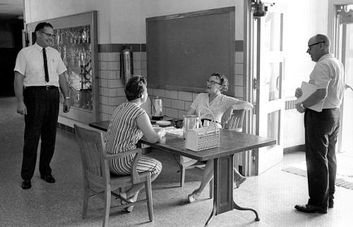 Wayne Goddard, Lolita Stone and Helen Ketterer c Aug 1964