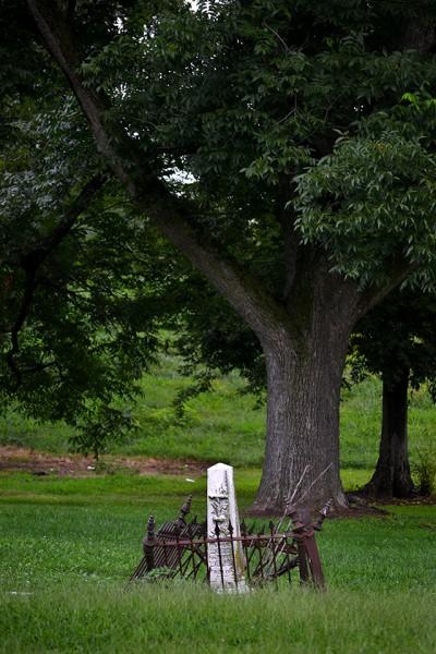 East Side Cemetery AKA Denhart Cemetery - Russell Street 08-06-2013