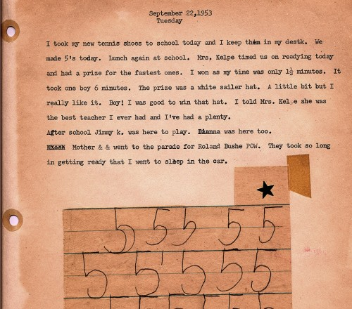 Ken Steinhoff Trinity Lutheran School 1st Grade Scrapbook 1953