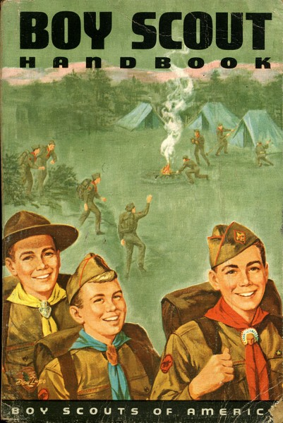 1965 Boy Scount Handbook - Boy Scout publications