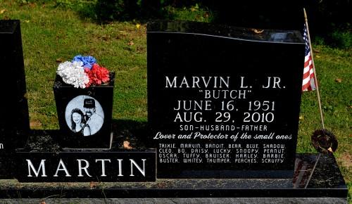 Martin grave Ringgold 08-24-2014