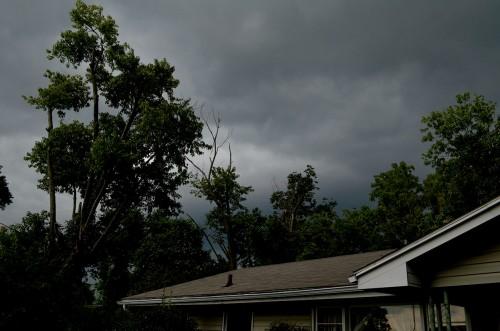 Storm clouds 08-19-2014