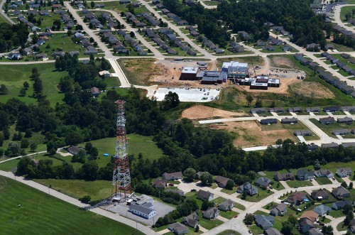 Aerials - Microwave tower - Jackson 08-13-2014