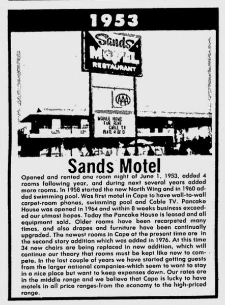 1982-06-06 Sand Motel story