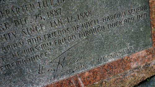 Severn tombstone - Truman Sig 08-07-2015
