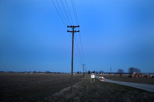 Utility lines near Allenville - Delta 03-05-2016